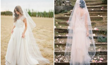 Types of wedding veil: do you know how to differentiate them?